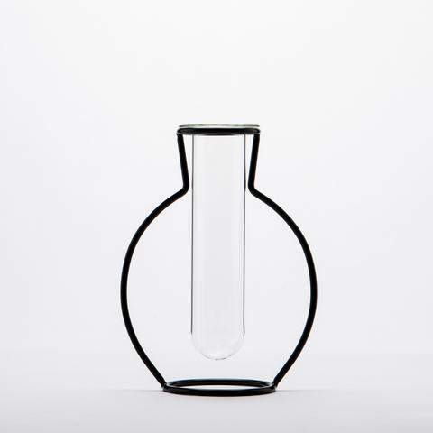 淨透微光壺型鐵線花器