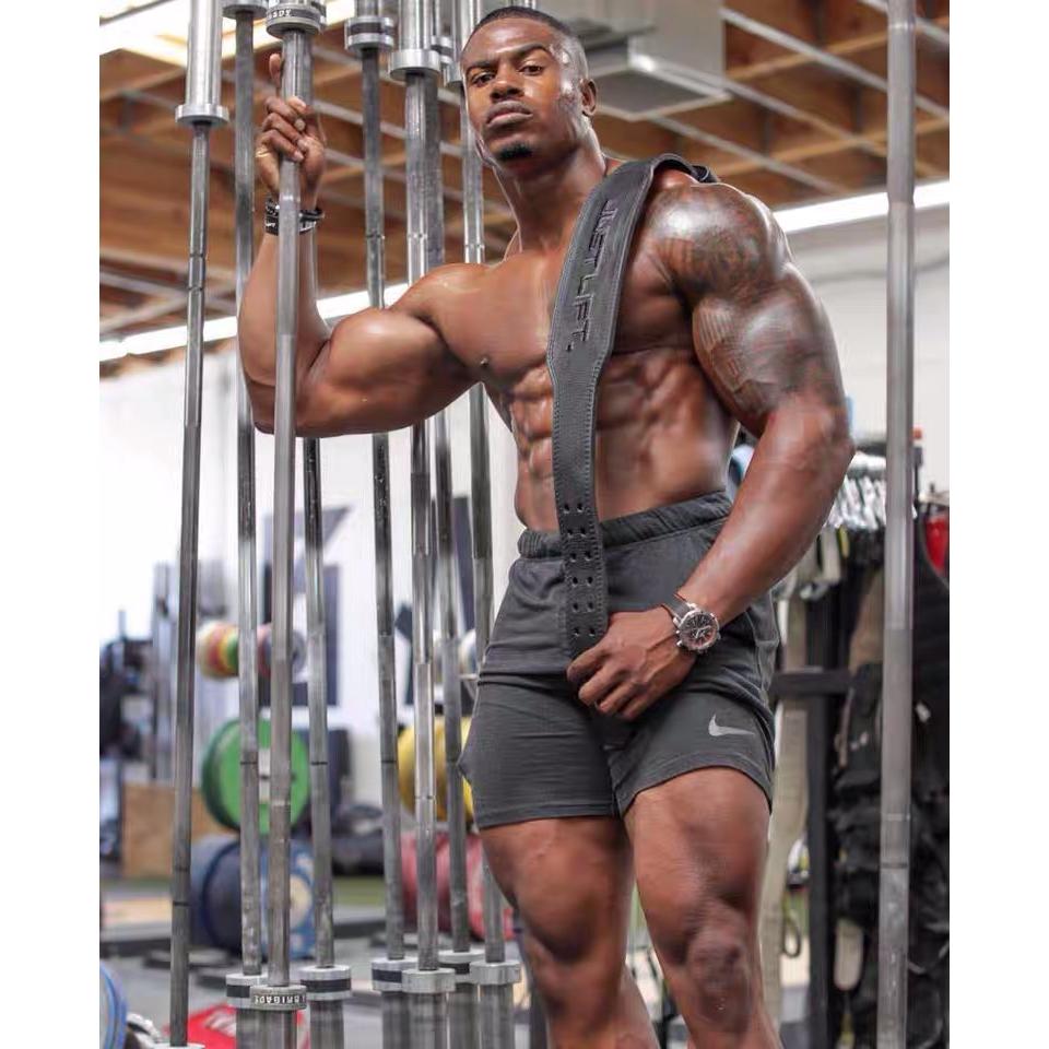新店五折 健身 健美 重量訓練 重訓 舉重腰帶 蹲舉 健力 健身腰帶 JUST LIFT熊貓健身訓練腰帶護腰支撐保護深