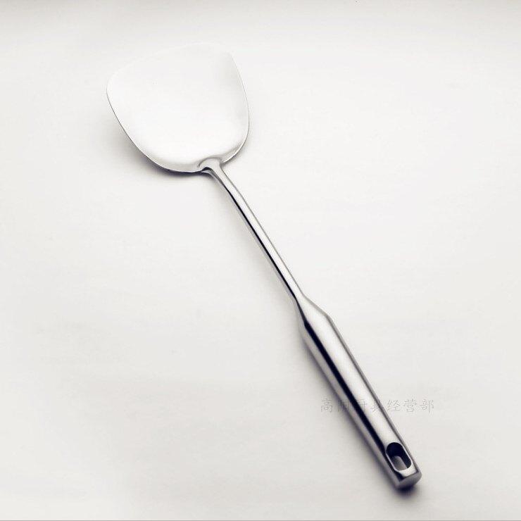 鍋鏟鍋勺 不銹鋼大湯勺 家用廚房深湯勺加厚加長柄盛粥勺烘焙工具1入