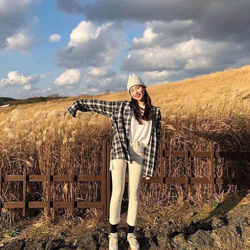純色毛線帽子女冬天潮百搭學生冷帽加厚保暖尖尖帽韓國套頭針織帽1入