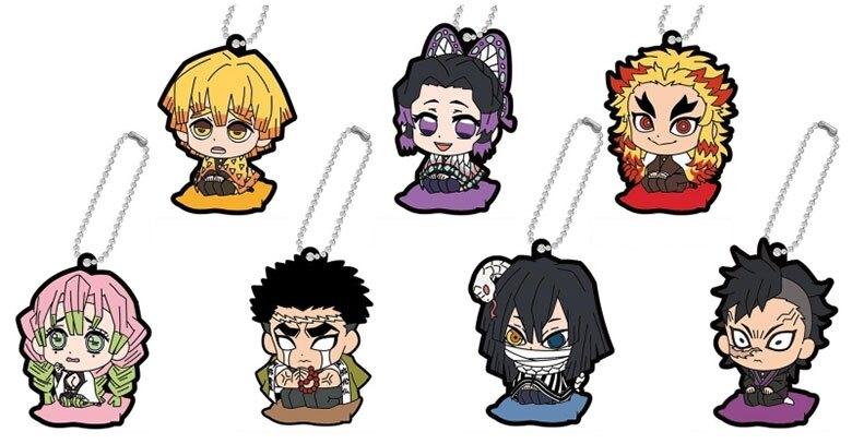 鬼滅之刃 壓克力吊飾 鑰匙扣 共7種另有隱藏版 BANDAI日本正版