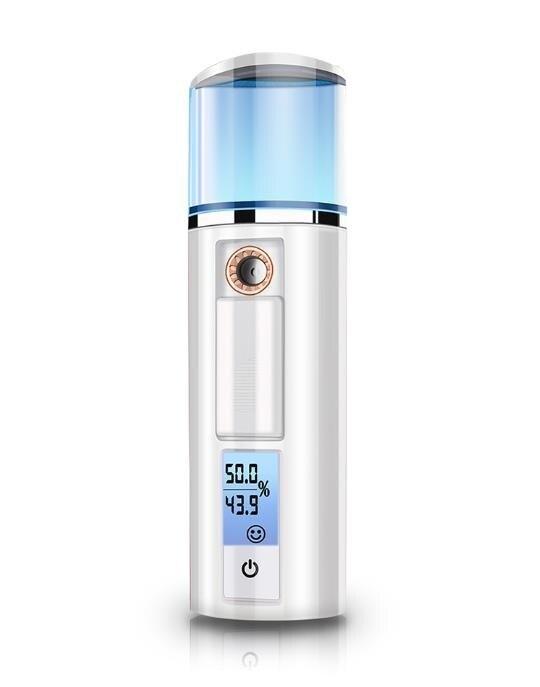 蒸臉器 泌洋納米噴霧補水儀便攜保濕蒸臉器臉部美容儀器冷噴機加濕器神器-快速出貨