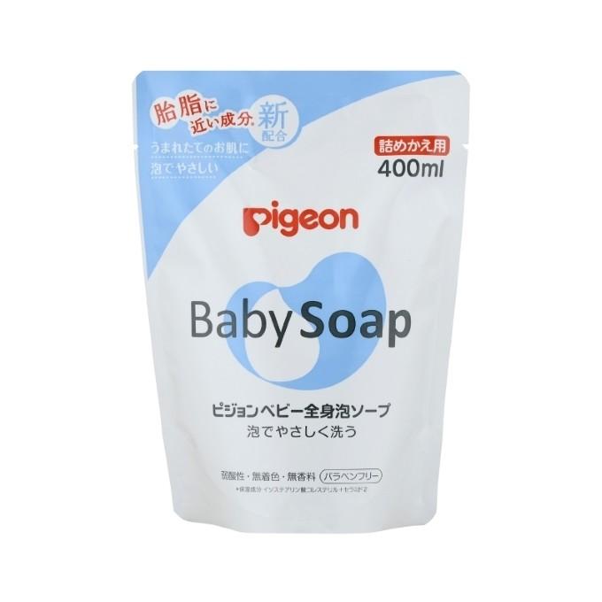 日本 Pigeon 貝親 泡沫沐浴乳/補充包