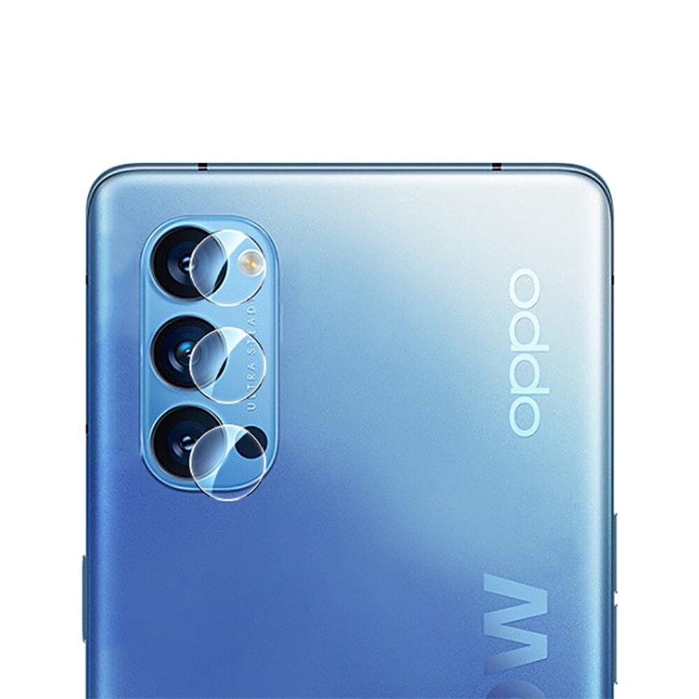 QinD OPPO Reno 4 Pro 鏡頭玻璃貼 (兩片裝)