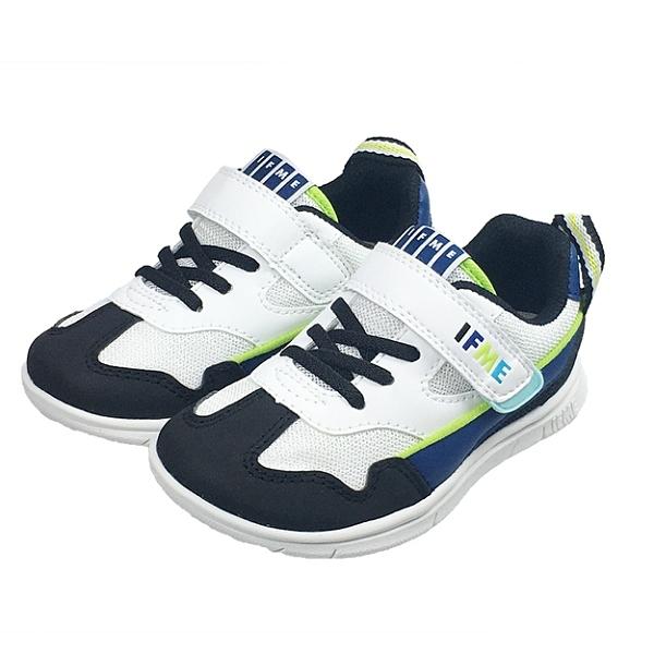日本 IFME light輕量系列-藍童鞋/運動鞋(15-18)