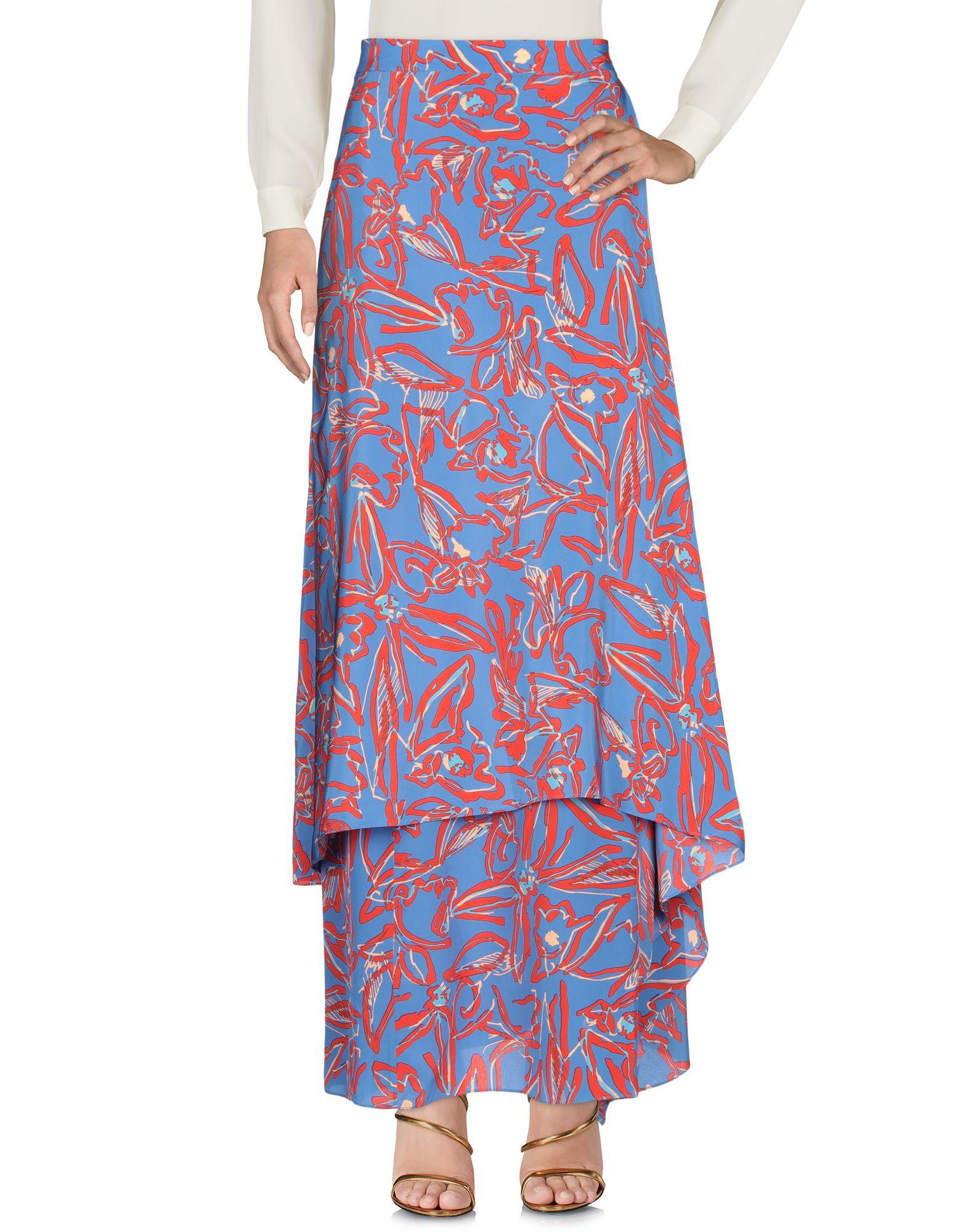 DIANE VON FURSTENBERG Long skirts - Item 35384075