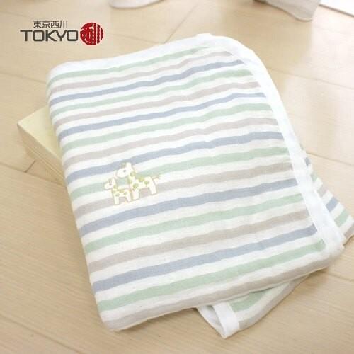 GMP BABY  東京西川-特級牛奶六重紗長方巾 / 兩色