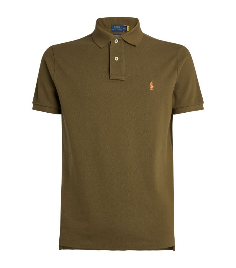 Polo Ralph Lauren Cotton Custom-Fit Mesh Polo Shirt