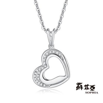 蘇菲亞SOPHIA 鑽鍊 - 唯一真心14K鑽石項鍊