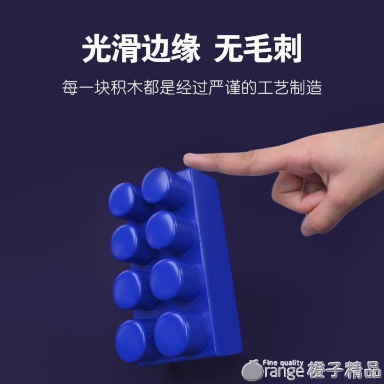 兒童積木桌多功能塑料玩具益智大顆粒男孩女孩寶寶拼裝拼插LEGAO