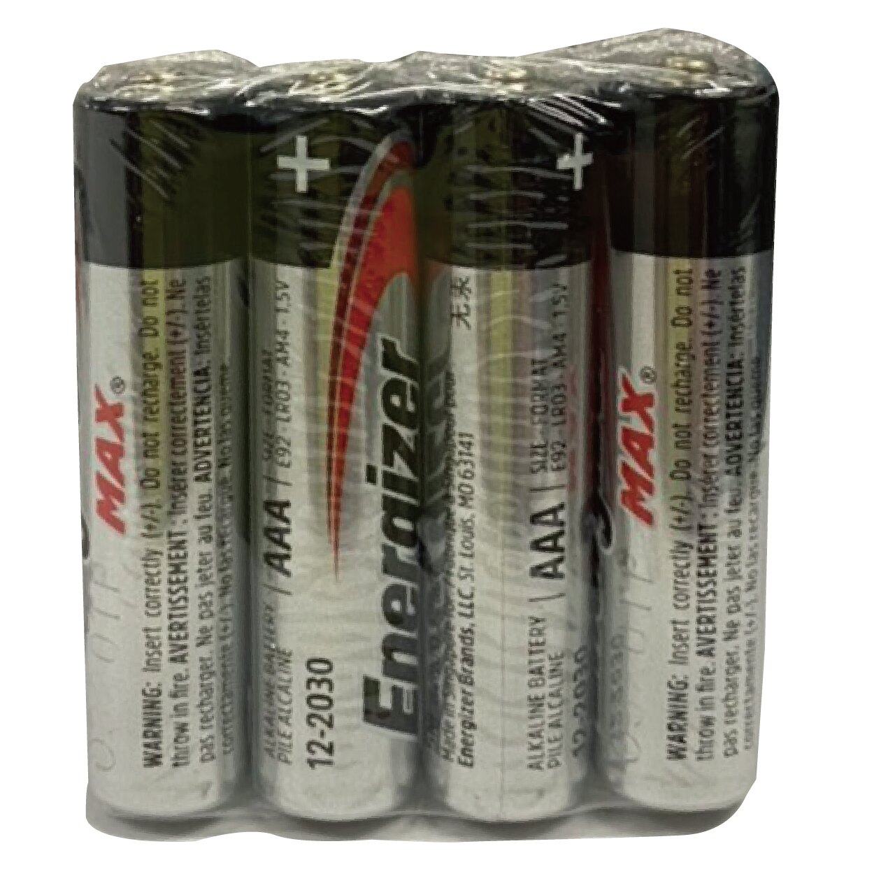 Energizer 勁量 4號 AAA 鹼性電池 40顆入 /盒