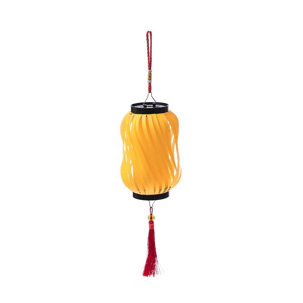 特力屋 7.5x18cm 長型創意燈籠-黃