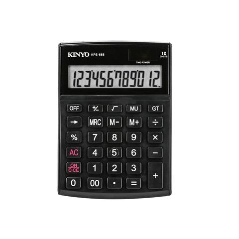 kinyo12位元計算機-黑