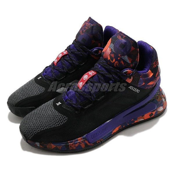 adidas 籃球鞋 D Rose 11 CNY 黑 紫 中國新年 男鞋 羅斯 飆風玫瑰 愛迪達【ACS】 G55803