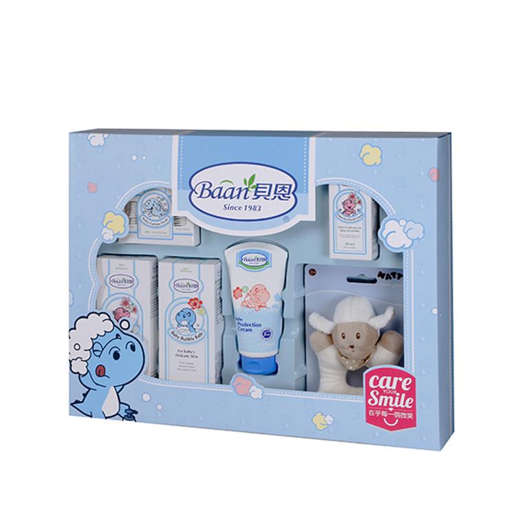 【滿$499限量送沙棘沐浴露(30ml)】台灣 Baan 貝恩 嬰兒護膚禮盒六件組