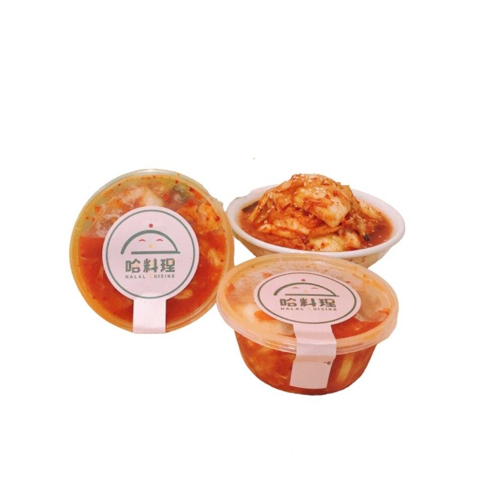 【哈料理】韓式手作泡菜*5  600/g罐 微辣夠味 辣炒年糕 部隊鍋 配菜