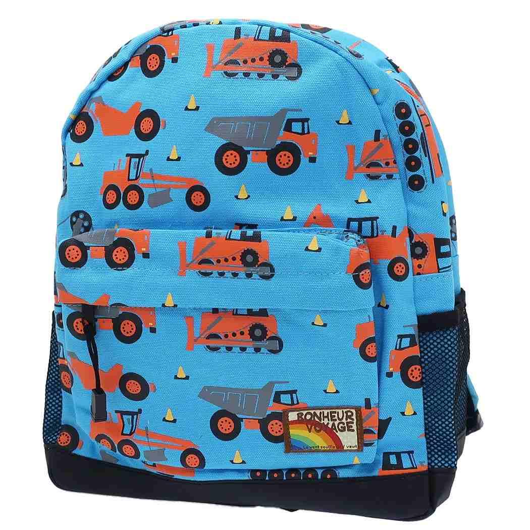 日本 MOMENTUM KIDS 兒童背包 (工程車)