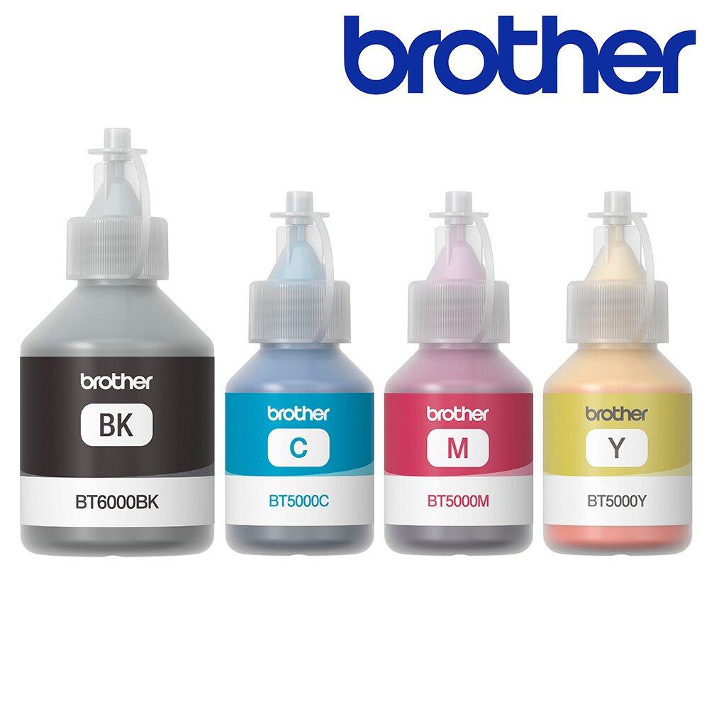 快速到貨◆Brother BT6000BK+BT5000C/M/Y 原廠連供墨水組合(1黑3彩)