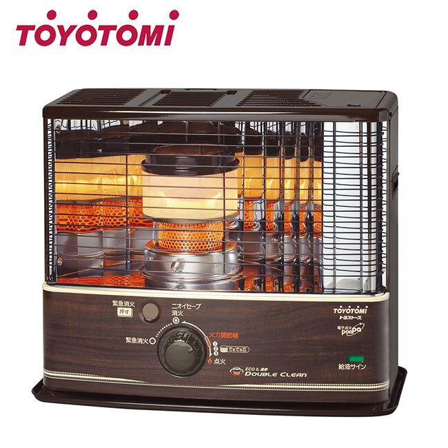 【TOYOTOMI】傳統多廣角反射式煤油暖爐 RCW320 (電池點火)露營可用