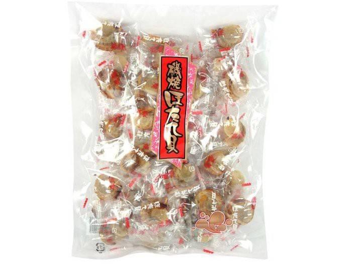 日本朝日 磯燒炭烤干貝糖-原味 500g/2包組[FIFI SHOP]