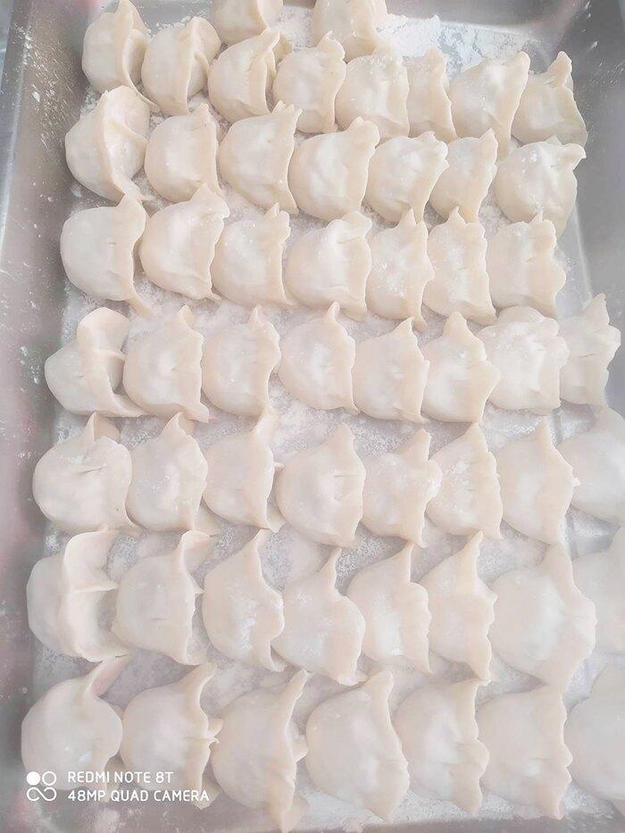 【美味餡餅】高麗菜素食水餃 100顆/包