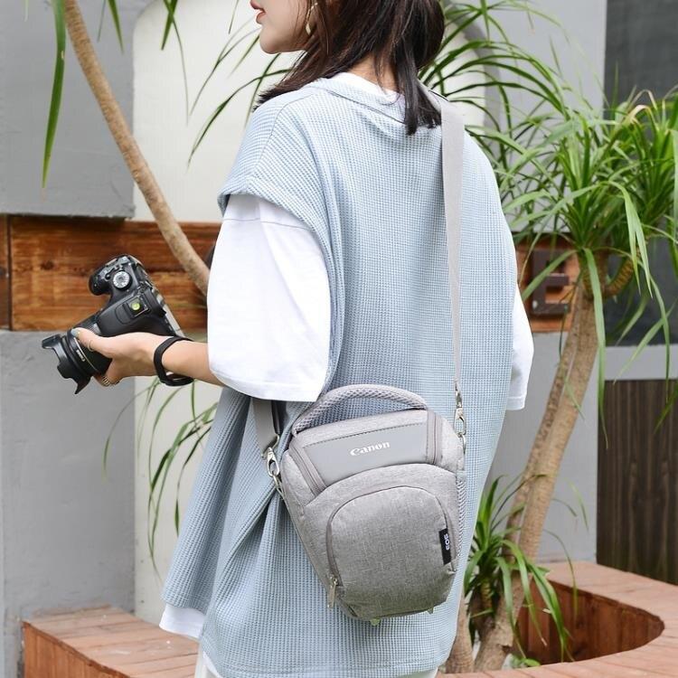 佳能相機包單反單肩三角包男女便攜70D5D45D360D80D90D200D攝影包 新年牛年大吉全館免運