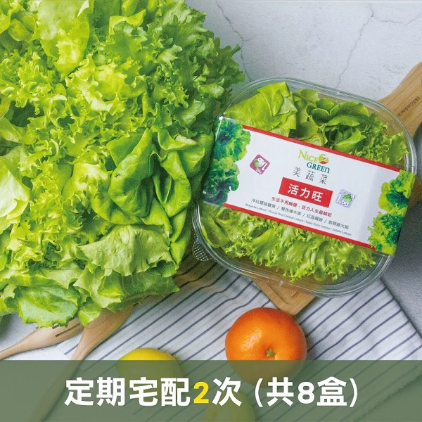 綜合美蔬菜 定期宅配2次