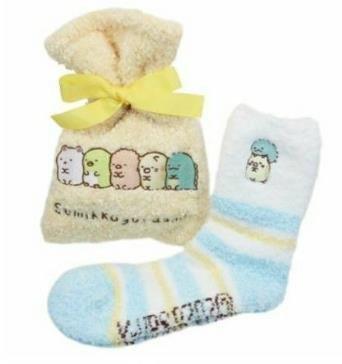 【莓莓小舖】正版 ♥ San-X 角落生物 保暖襪子 附束口袋