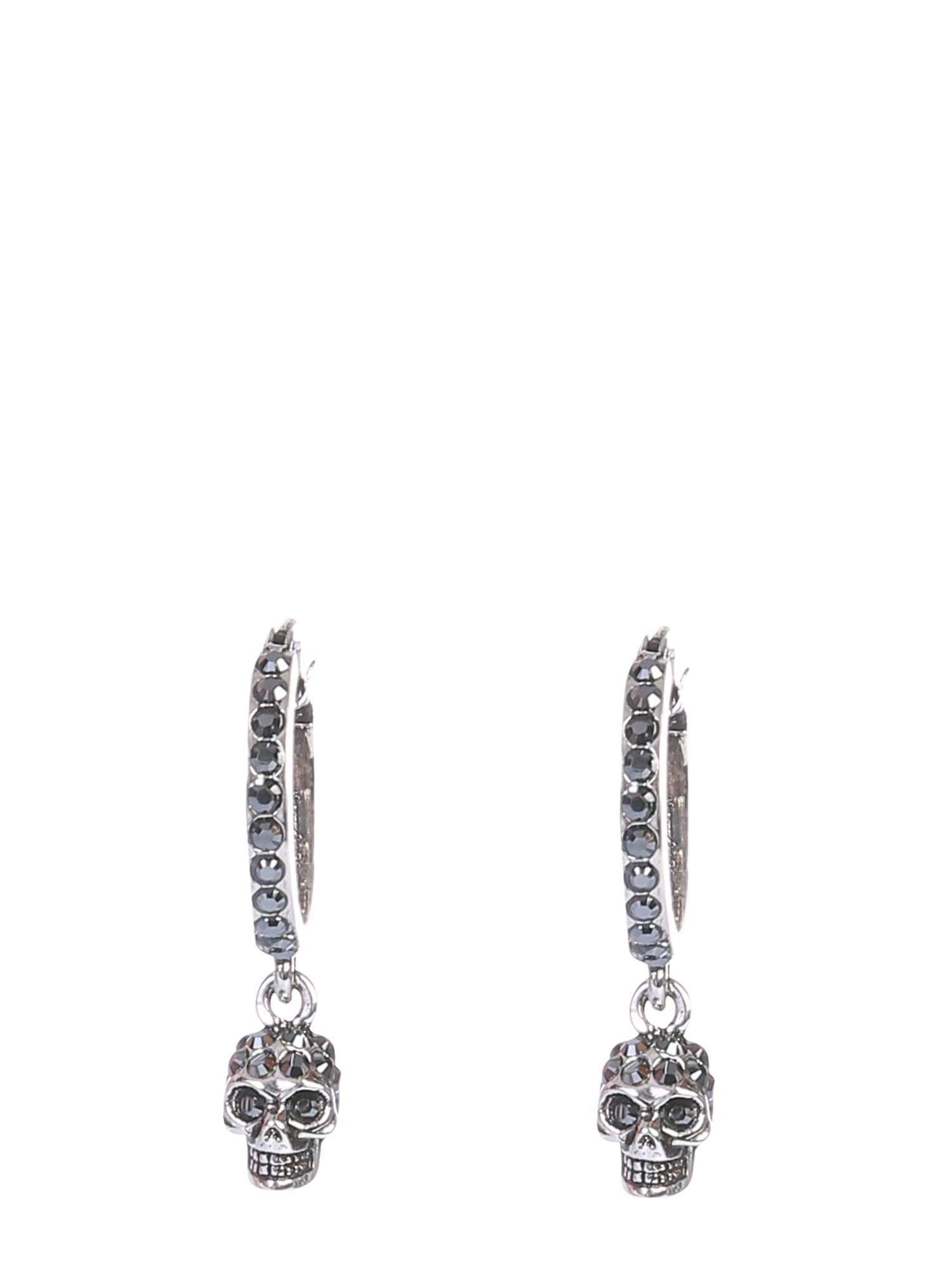 """alexander mcqueen """"skulls"""" earrings"""