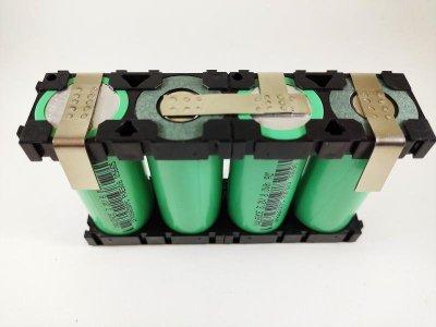 全新4串1並 26650鋰鐵電池組2.5AH持續30A瞬間100A 機車啟動電池組、汽車外掛電池