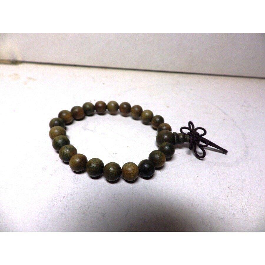 綠檀木6mm手珠