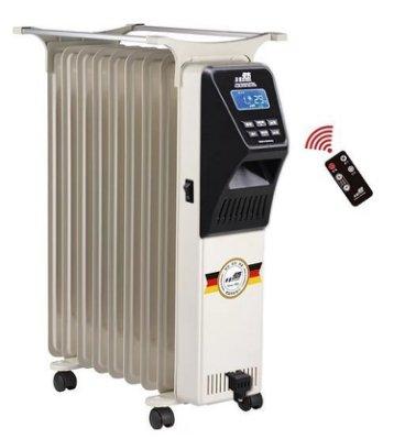 【EASY】北方 NAE-09 電子式 9葉片恆溫電暖爐/另售NAE-11