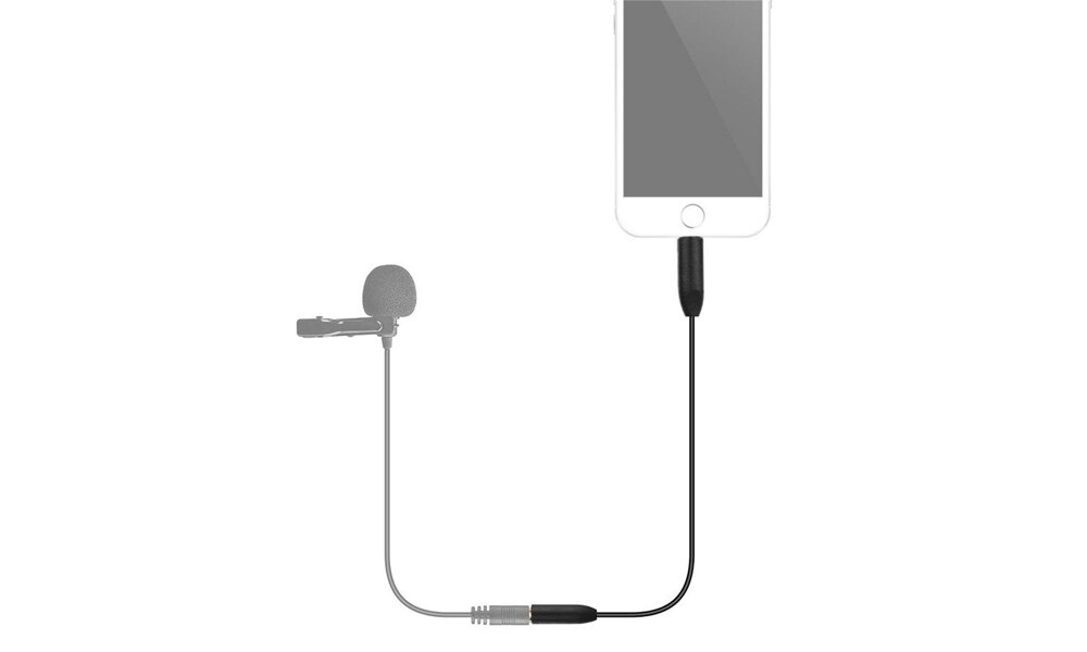 楓笛 Saramonic SR-UC201 麥克風轉接線 TRS 3.2mm 相容 蘋果 安卓 公司貨