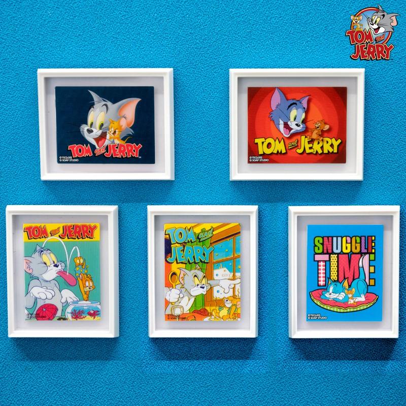 【eez】soap studio貓和老鼠美術館系列磁貼畫 迷你藝術畫盲盒框動漫周邊