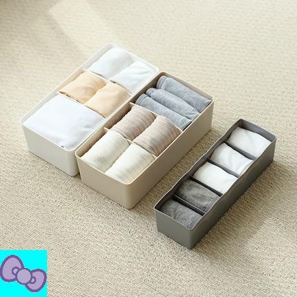 【萌萌愛】家用塑料衣櫃內衣收納盒抽屜內衣褲整理盒桌面文胸內褲襪子收納箱