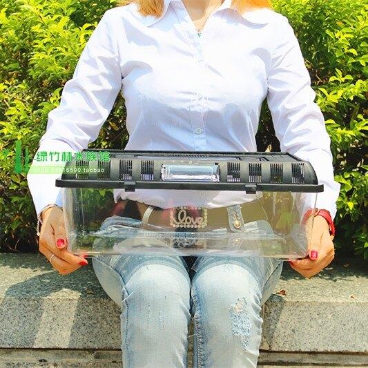 限時八折-魚龜缸 亞克力缸龜缸 高檔塑料龜缸 龜缸 大型 烏龜缸帶曬台