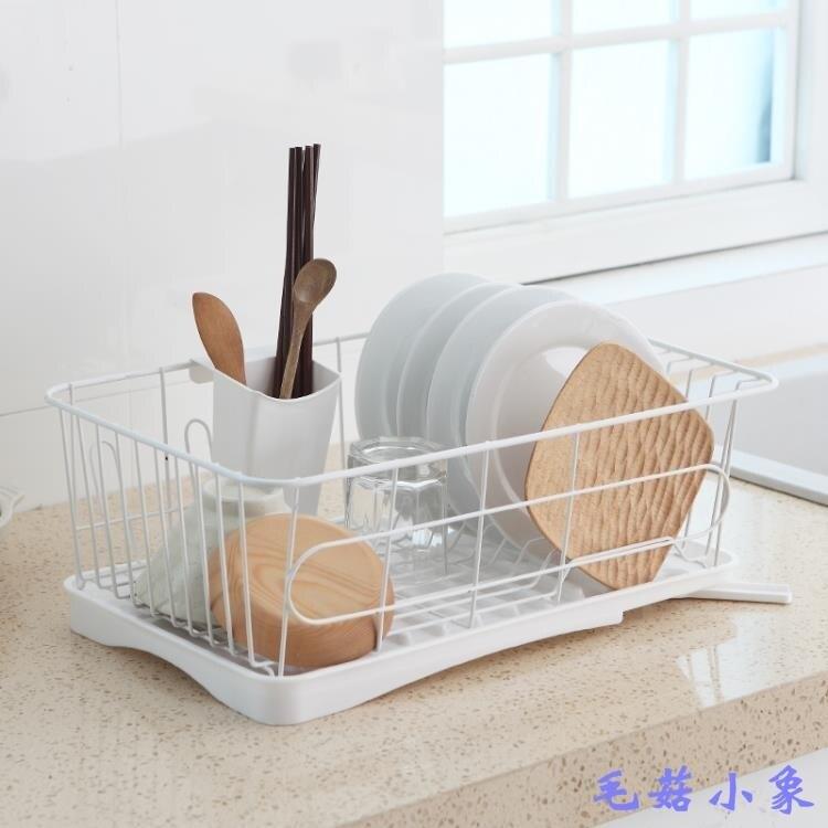 廚房置物架碗架瀝水架濾水籃碗碟筷餐具碗筷收納架家用創意瀝水籃 全網低價