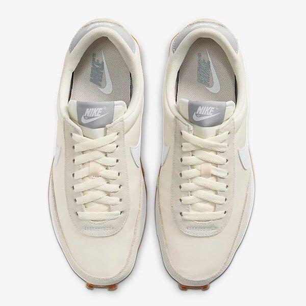 NIKE DAYBREAK 復古慢跑鞋 奶茶色 白勾 女生尺寸【CK2351-101】