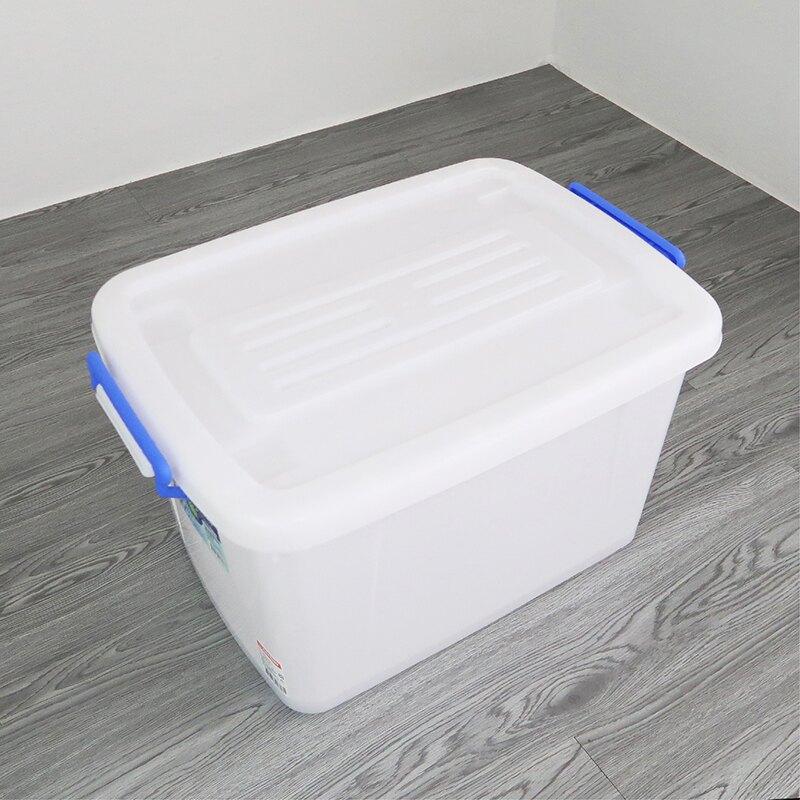聯府多用途滑輪整理箱45L玩具收納箱衣物分類箱K601-大廚師百貨