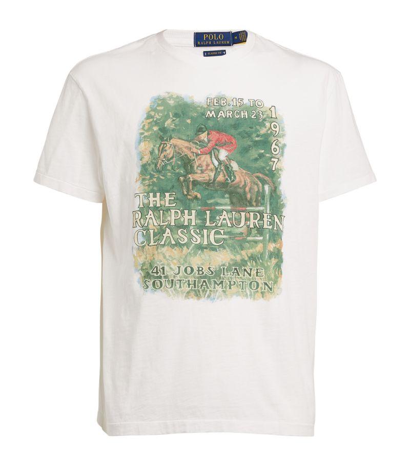 Polo Ralph Lauren Cotton Graphic T-Shirt