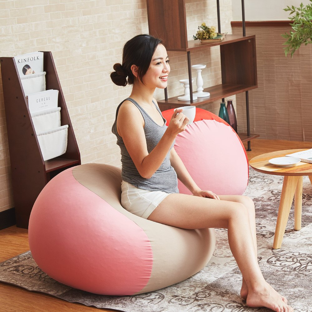 冰淇淋魔球懶骨頭/布沙發/椅凳(專利申請中) /班尼斯國際名床/【母親節推薦】