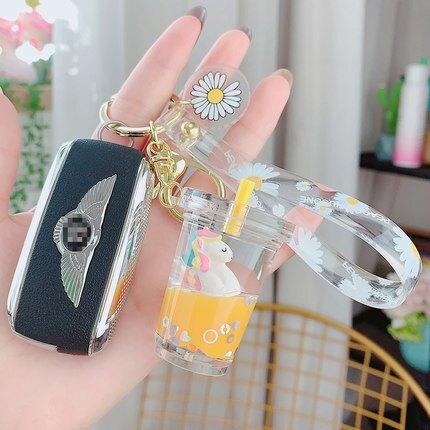 創意掛飾可愛網紅書包獨角獸奶茶ins 圈鑰匙扣鏈女包包小掛件飾品『S160』
