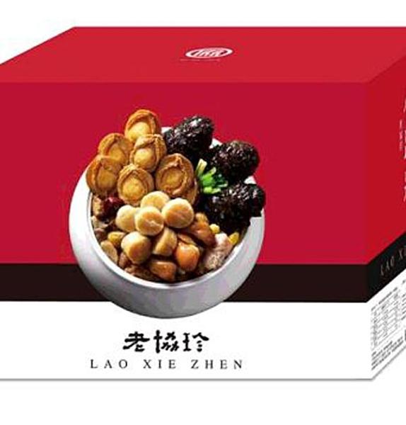 [需低溫宅配] LAO XIE ZHEN 絕品佛跳牆 共3108G 固形物 1458G _C108166