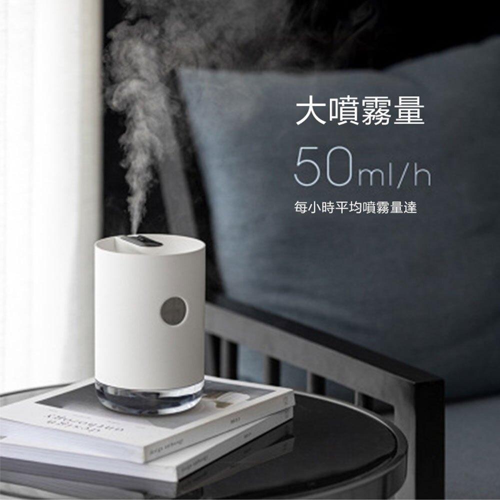 台灣現貨 加濕器臥室家用無線迷妳usb空氣增濕凈化器桌面辦公室無菌分離式  【簡約家】