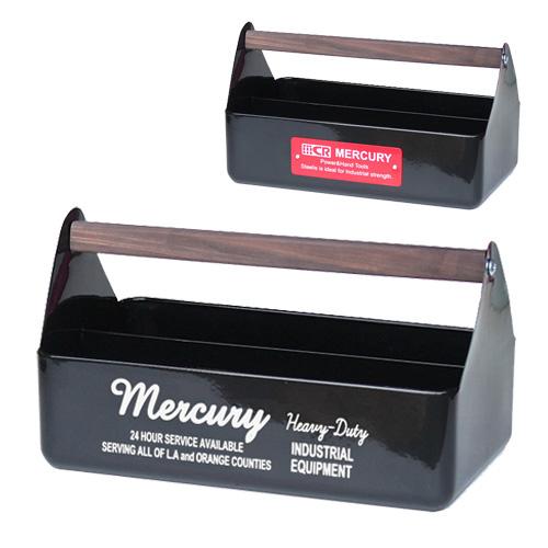 MERCURY - ME048530 HANDLE TOOL BOX 手提 收納箱 / 工具箱 / 置物盒 (黑色)