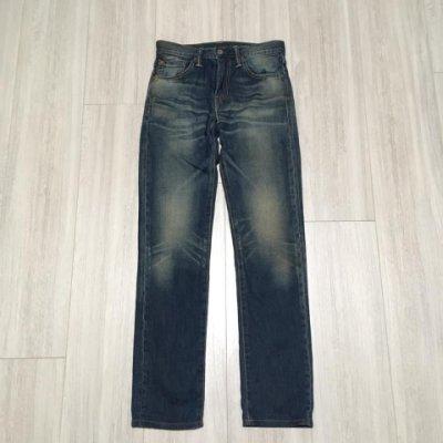 日本製 LEVI'S LEVIS 04511-1667 W28 L32 藍刷色合身窄版牛仔褲 501 504 511