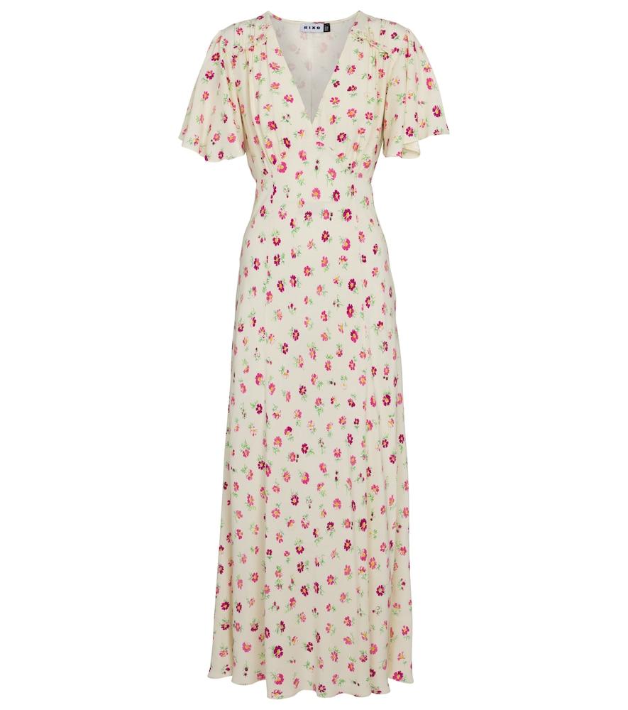 Bessie floral maxi dress