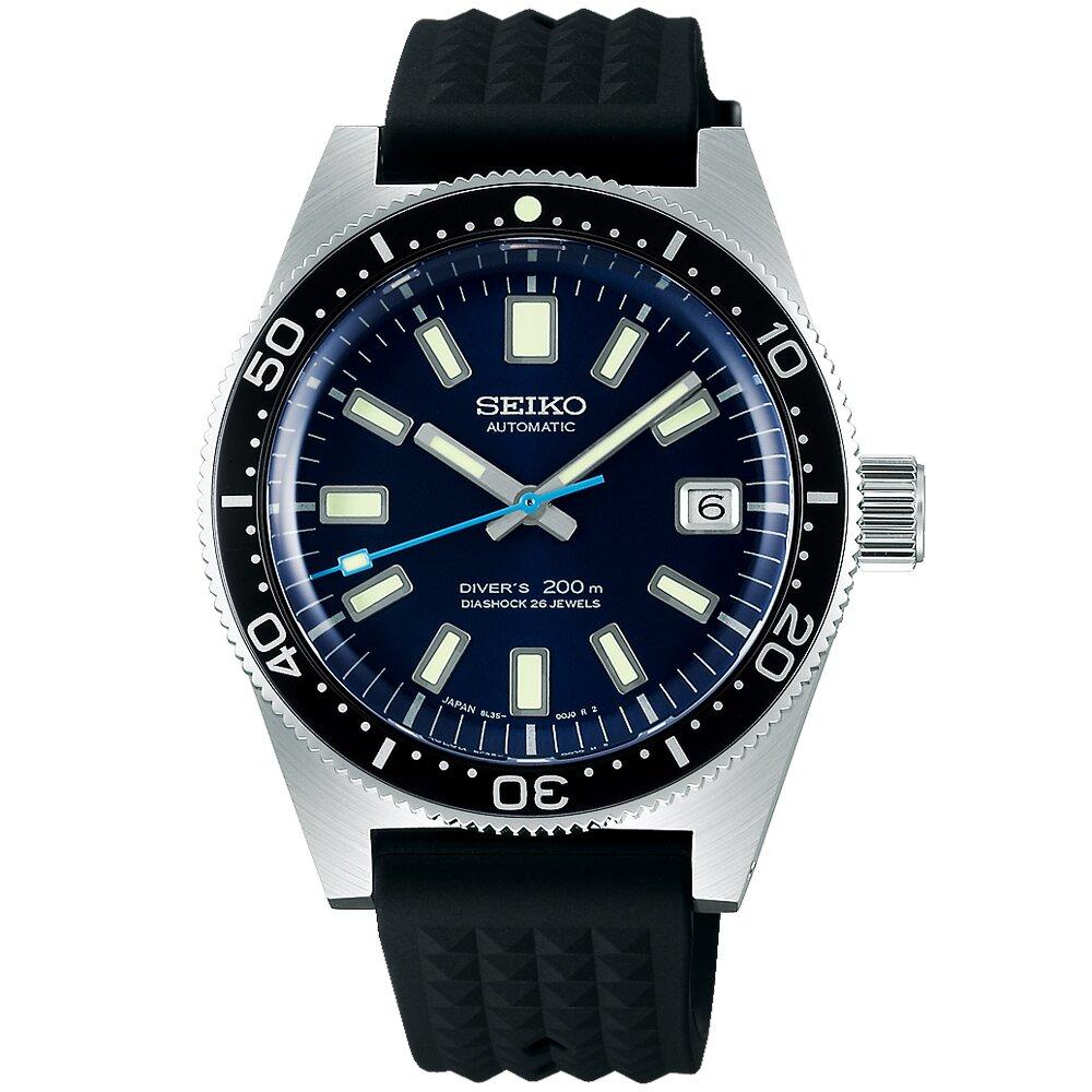 【SEIKO】 精工 Prospex 潛水錶55週年限量款 200米潛水機械錶(SLA043J1/8L35-01C0B)-39.9mm
