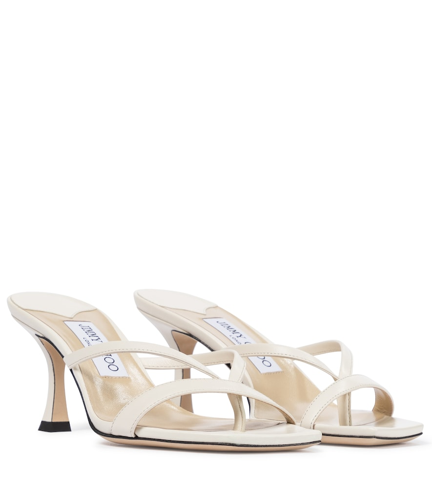 Maelie 70 leather thong sandals