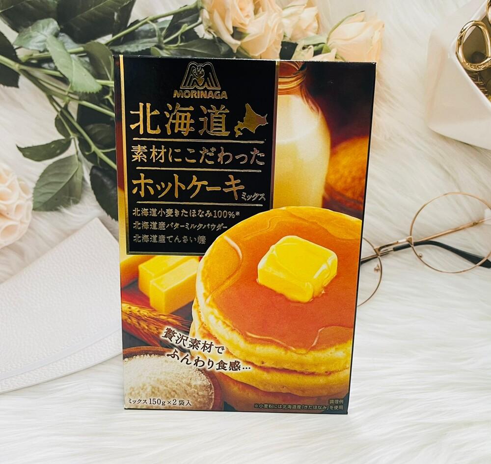 潼漾小舖 日本 森永 北海道頂級素材鬆餅粉 300g